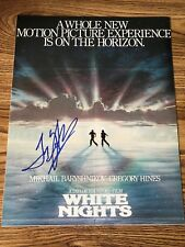 Taylor Hackford Autographed 11x14 Photo Producer Ray Blood In Blodd Out
