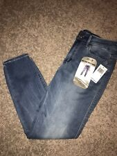 NWT Women's Size 4 Seven 7 Blue High Rise Ankle Skinny Denim Jeans MSRP $69