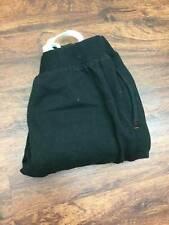 SPALDING Stretch Waist Drawstring Tie Black Athletic Sweatpants Women's Size L