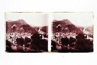 Francia Pesanti Panorama Foto n46L3-15 Placca Lente Stereo Vintage