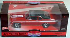 ERTL 1/18 1969 YENKO 427 Chevy Nova RED 29119 SEALED American Muscle Supercar 69