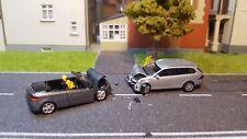 Unfall 1:87  VW    Feuerwehr  H0  Einsatz  Polizei 1:87 Wiking Herpa vw Golf
