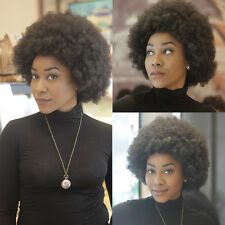Short Curly Black Wig Synthetic Hair Lace Front Casplay Full Wig for Black-Women