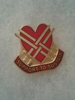 Authentic US Army 31st Support Group DI DUI Unit Crest Insignia IOH