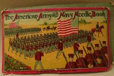"""""""The American Army and Navy Needle Book"""",Early 1900'S, Pre Wwi"""