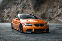 BMW E92 E93 Front Bumper Spoiler Lip Splitter M3 Bumper 2PCS