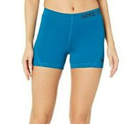 Nike Pro 3 Training Short (Green Abyss/Black) Women's Shorts Size XS 0178