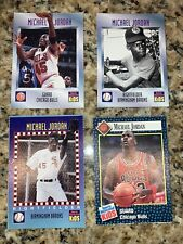 LOT of 4 1992 - 1995 SI For Kids MICHAEL JORDAN Sports Illustrated RARE Cards!