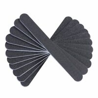 Heavy Duty Professional Nail Files Washable Double Sided Emery Boards 10 Pieces