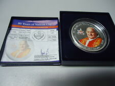 PALAU 2009 - 1 Dollar in Silber, colored - 80 Years Vatican City - JOHN XXIII