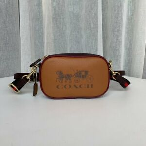COACH Jes CROSSBODY Convertible Belt Bag COLORBLOCK Brown F75907