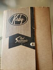 Vtg Kirby Dual Sanitronic vacuum cleaner system attachments in box