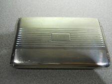 LA PIERRE Sterling Silver Cigarette Case - 142.8 Gr. - Monogrammed R.A.N.