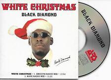 BLACK DIAMOND - White Christmas CD SINGLE 2TR Eurodance 1995 (ARS) Belgium