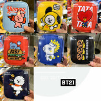 BTS BT21 Official Authentic Goods Cable Pouch BITE Ver + Tracking Number