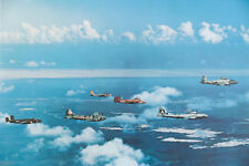US AIR FORCE WW2 VINTAGE AIRCRAFT photo PRINT 17x23 confederate jet AIRPLANEs