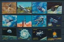 [104052] Bhutan 1970 Space travel weltraum satellite Plastic 3D effect MNH