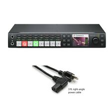 Blackmagic Design Atem Television Studio Hd Switcher & Right-Angle Power Cord