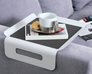 Sofa Butler Sofatablett Tablet Couch Ablage Armlehne Tisch Biertisch Minitisch