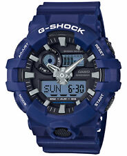 Casio G-SHOCK GA700-2A Blue Super Illuminator Analog Digital 200m Men's Watch