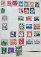 JAPAN 1919 - 1940 Set of 30 Mint hinged / used stamps CV>$109