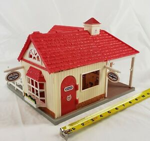 """Vintage Breyer Barn Building Toy Large Small Animal Care Emergency Clinic 11"""""""