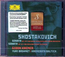 Gidon KREMER & Yuri BASHMET: SHOSTAKOVICH Violin & Viola Sonata arr. Concerto CD