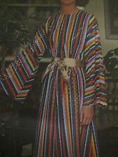 Vintage Butterick 3448 NIGHTTIME CAFTAN w/ BELLED SLEEVES Sewing Pattern Women