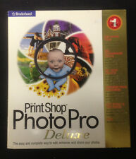 PRINT SHOP PHOTO PRO DELUXE BRODERBUND free shipping