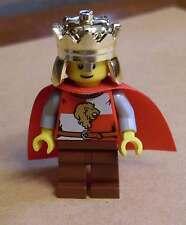 Lego Ritter Figur Kingdoms - Lion King Quarters ( 9349 ) König m Krone Löwen Neu