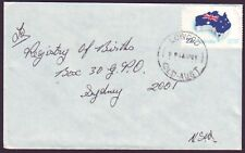 "QUEENSLAND  POSTMARK ""LOWOOD"" CDS ON COMMERCIAL COVER DATED APRIL 1981 (PS4733)"