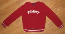 GIRLS SPARKLE TOMMY HILFIGER RED SPARKLY SWEATER SZ: S/P