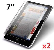 "2 X Profesional Protector de pantalla de 7 ""pulgadas Android Tablet Pc Epad Apad Reino Unido"