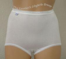Sloggi Basic Maxi Cotton Brief (4 in 1pack ) White,Black,Poudre, Mixed Coloures