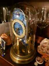 Old antique GERMAN kaiser zodiac 400 day globe anniversary  clock
