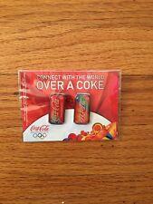 Coca-Cola 2008 Beijing Olympics Pin Set Coke Cans