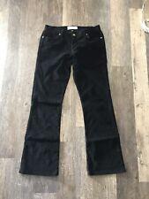 Paper Denim & Cloth Women's Black Bootcut Fine Corduroy Pants, 31