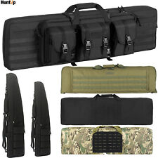 Tactical Rifle Bag Double Single Gun Padded Soft Case Hunting Storage Backpack