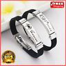 Stainless Steel Zodiac Sign Bracelet Men Women Casual Fashion Bangles Wristband