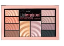 MAYBELLINE ~ TOTAL TEMPTATION SHADOW + HIGHLIGHT PALETTE ~ NEW/SEALED ~