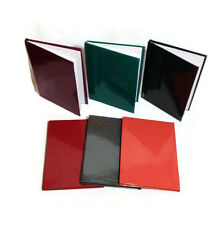 SET OF 6 HARDBACK NOTEBOOK 100 PAGES A6 IN 6 COLOURS PICKED AT RANDOM