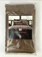 Hotel Collection Otto Euro Pillow Sham, Brown - Msrp $95