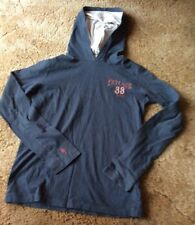 """""""FAT-FACE""""  HOODIE  NAVY BLUE SIZE 12/13 YEARS.  100% COTTON  LONG SLEEVES"""