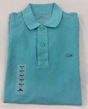 Lacoste Men's Polo Shirt Brand NWT Corsica Aqua SLIM FIT Size EU 3 US XS