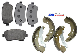 FOR NISSAN NOTE 1.2 1.4 1.5 DCi 06-12 FRONT BRAKE PADS AND REAR SHOES SET