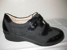 Finn Comfort Luttich Nubbuck / Patent Leather Shoes Design Sz 5.5 D , US  8