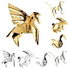1Pc Brooch Pins Badge Corsage Jewellery Geometry Metal Cat Rabbit Horse Bird E7