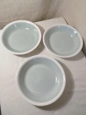 3 Vintage Ridgway 'Vitrock Hotelware' Bowls 'Calypso', Green