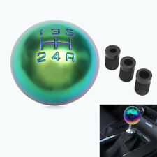 Universal Car Truck Sport Manual MT 5 Speed Gear Leather Shift Knob Lever Cover