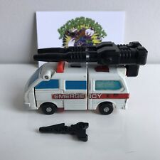 Transformers G1 First aid G1 Defensor 100% Complete!